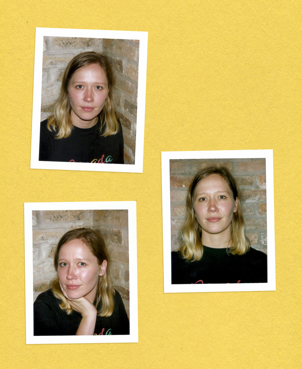 Brian Garbrecht - Julia Jacklin. Chicago, IL. 2017. Instant Film Collage