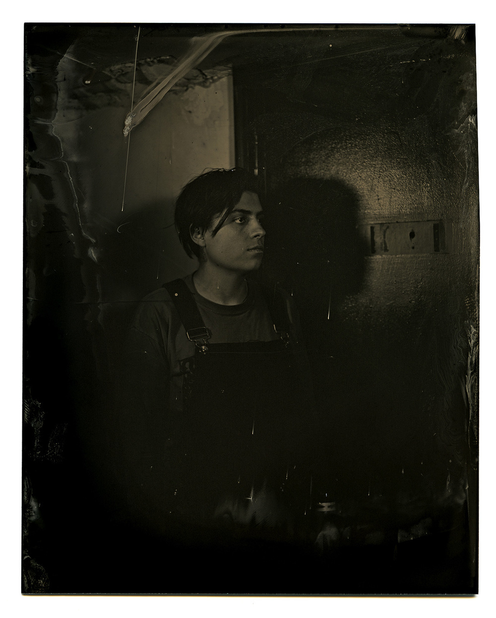 Brian Garbrecht - Rebecca Lasaponaro of And The Kids. Chicago, IL. 2017. Tintype