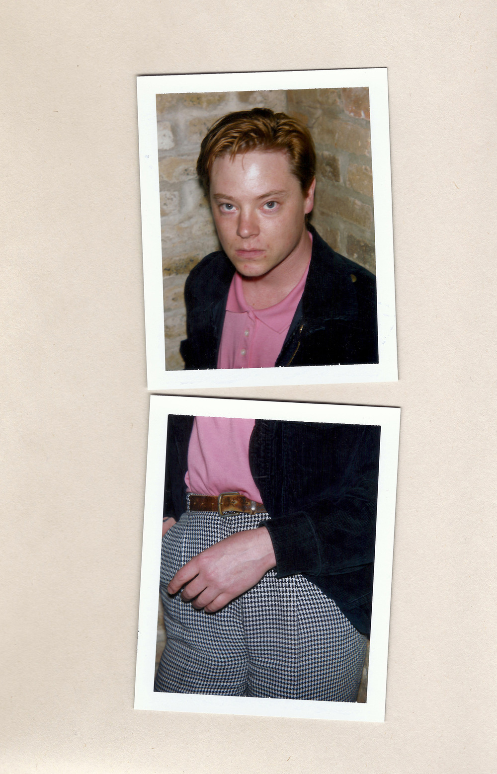Brian Garbrecht - Julia Jacklin drummer. Chicago, IL. 2017. Instant Film Collage