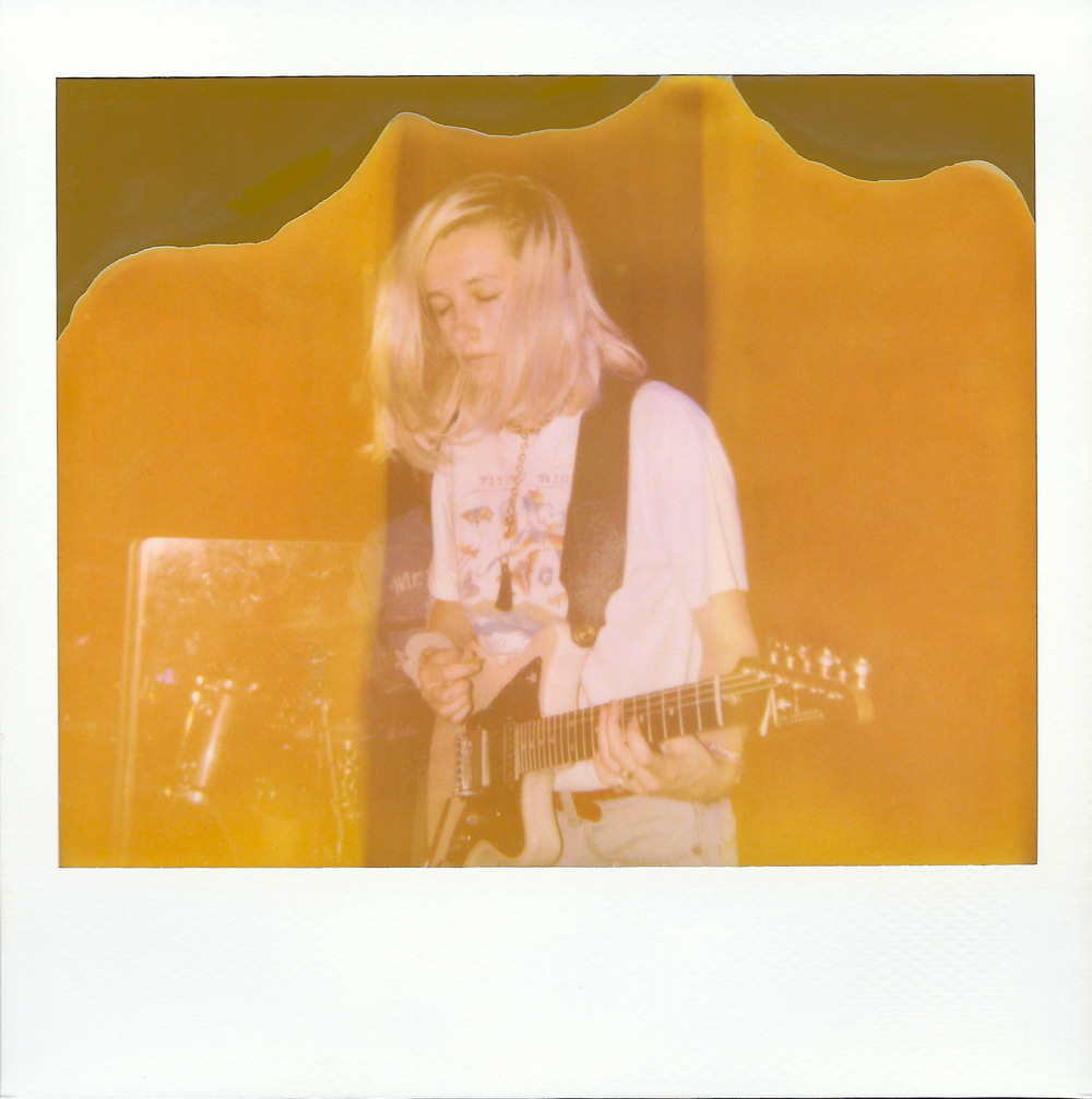 Brian Garbrecht - Leah Wellbaum of Slothrust. Chicago, IL. 2017. Expired Instant Film
