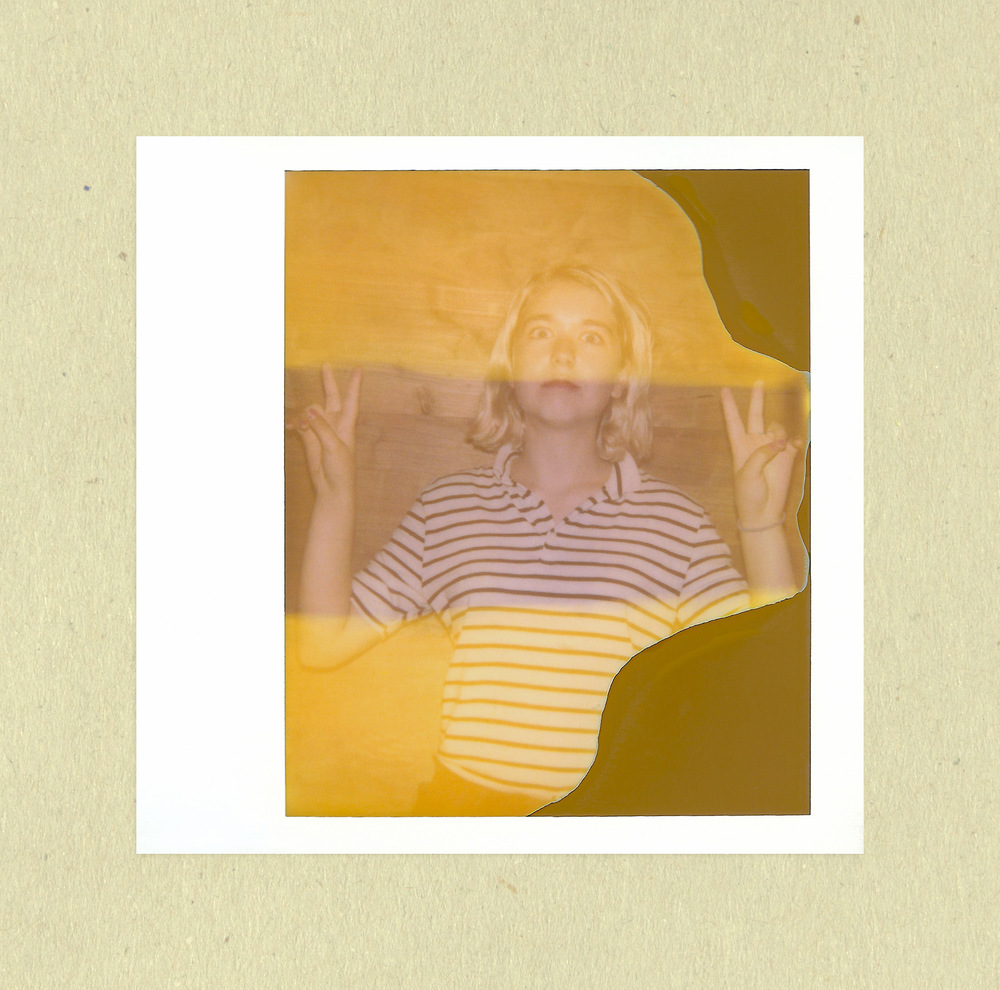 Brian Garbrecht - Lindsay Jordan of Snail Mail. Chicago, IL. 2017. Expired Instant Film