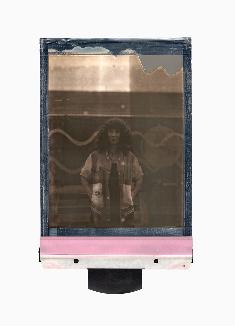 Brian Garbrecht - Jamie Drake. Evanston, IL. 2018. 8x10 Instant Film