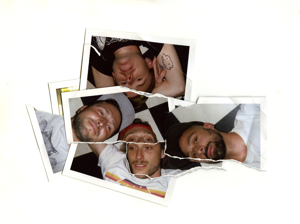Brian Garbrecht - Delta Sleep. Chicago, IL. 2018. Instant Film Collage.