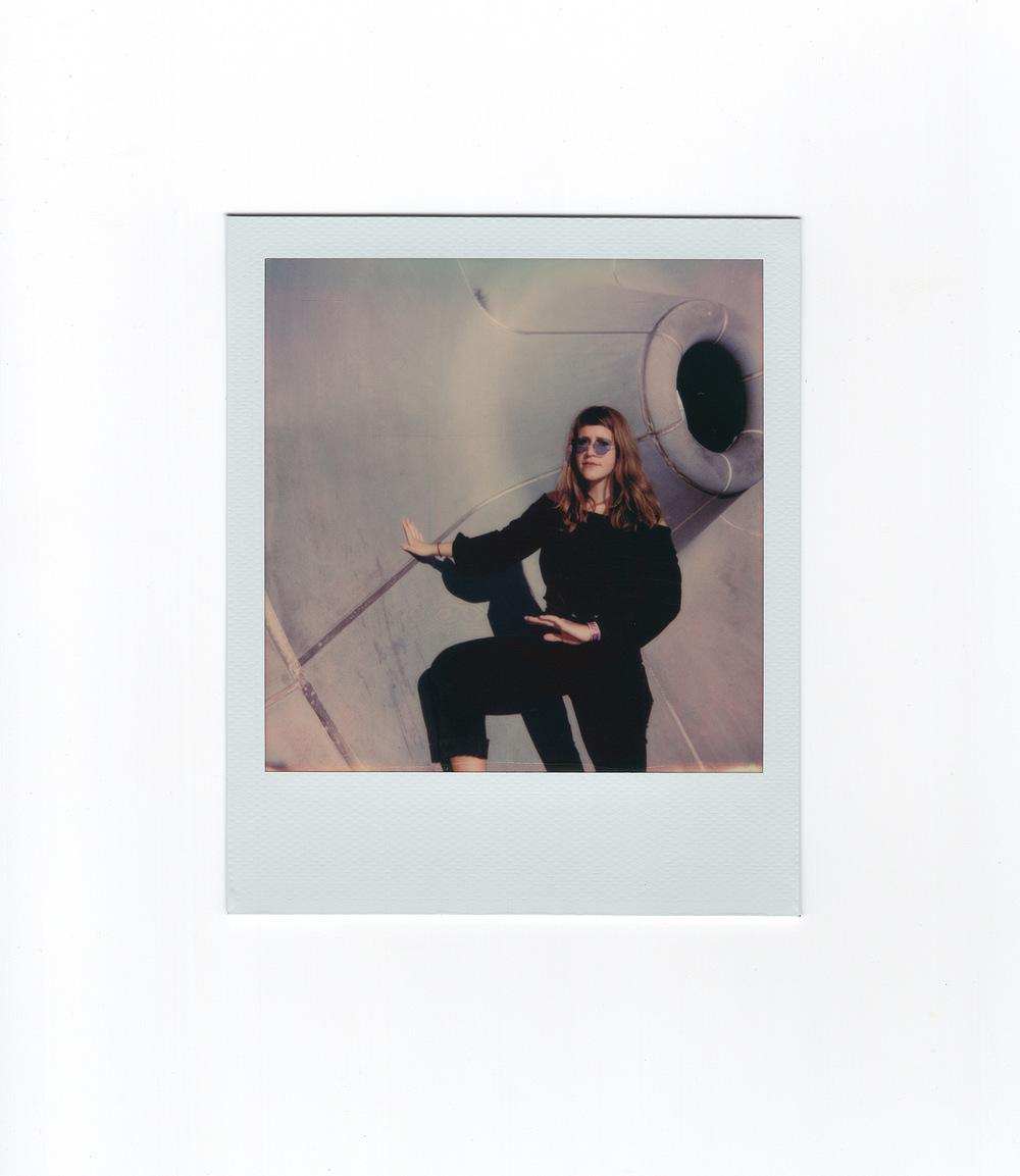 Brian Garbrecht - V.V. Lightbody. Kalamazoo, MI. 2018. Polaroid Instant Film.