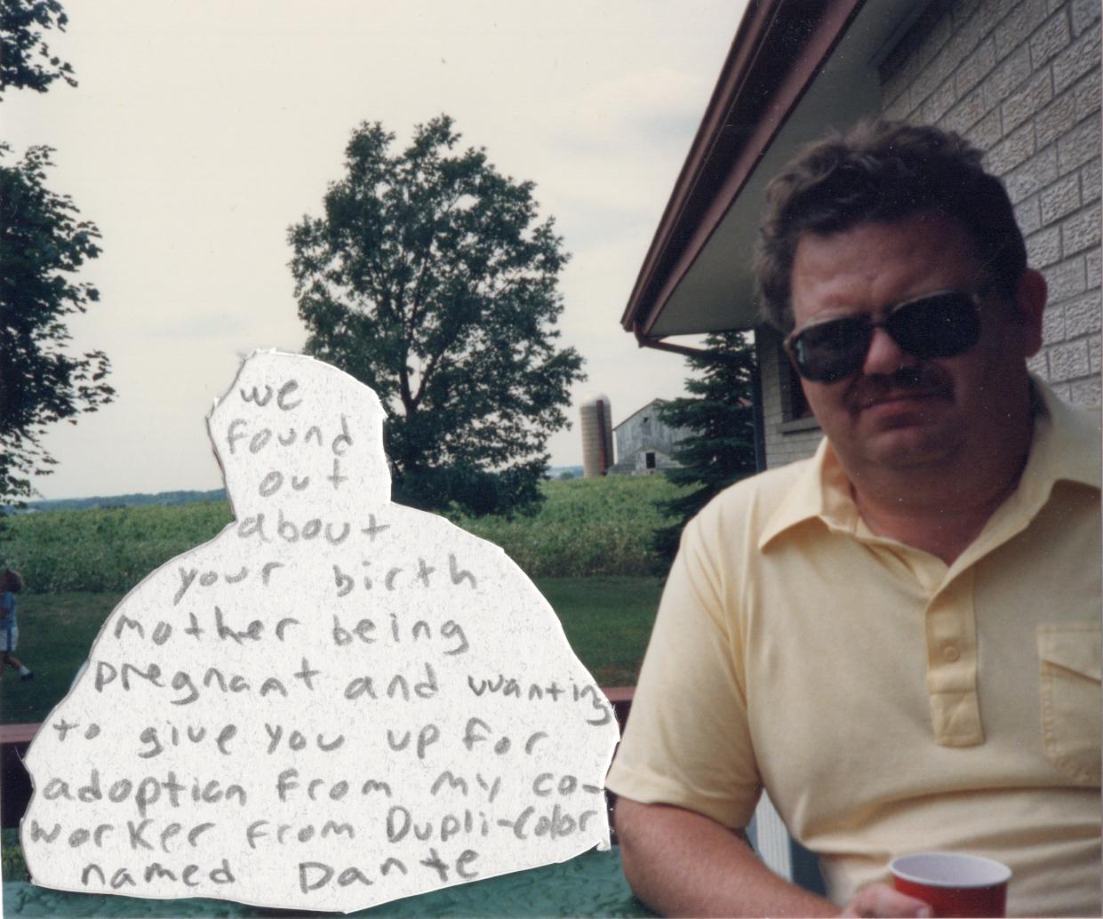 Brian Garbrecht - Dante 2021. Family Archive, Graphite on Paper.
