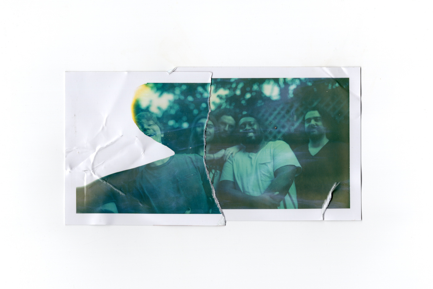 Brian Garbrecht - Wilmette. Elgin, IL. 2020. Expired Polaroid Collage.