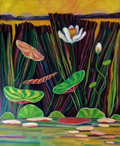 Mary Sundstrom - Pettys Bayou 30x 40 SOLD
