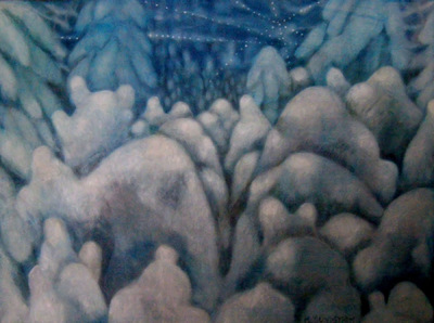 Mary Sundstrom - Muffled Landscape 20x 24 SOLD