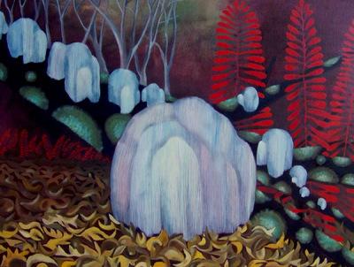 Mary Sundstrom - Lions Mane Mushroom 20x 24 $500