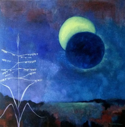 Mary Sundstrom - Eclipse 20x 20 Available $450