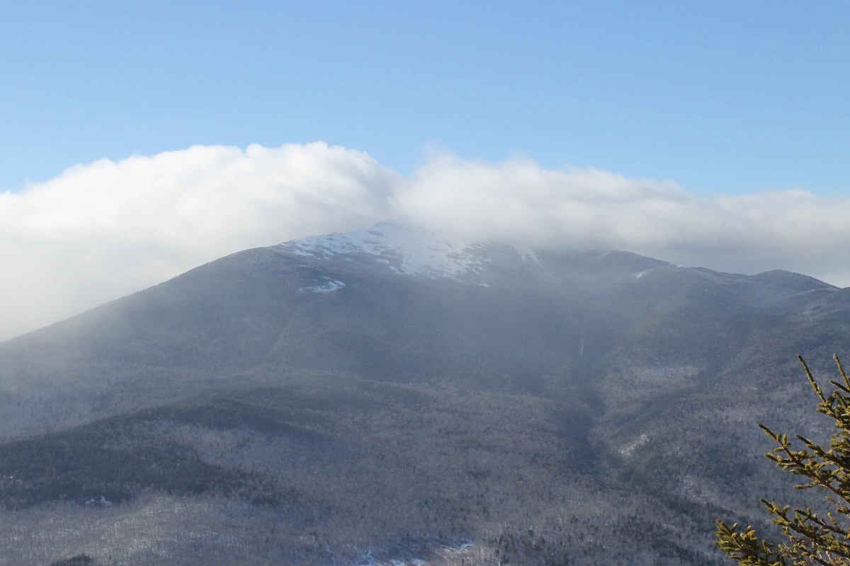 Rachel Leeson - From the summit of Webster, the Whites, New Hampshire