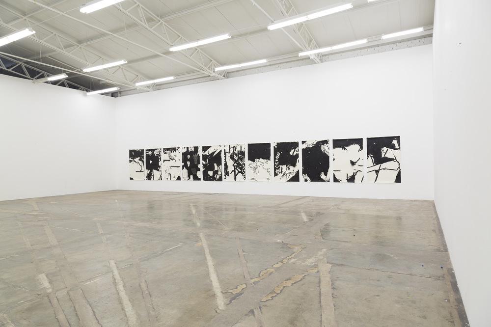 Alex Marco - Esto está pasando, 2017. (General view) Luis Adelantado Gallery, Mexico City.