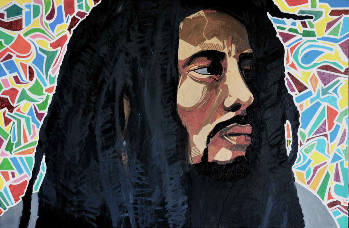 Andrew Mitchell | Graphic Artist - Bob Marley