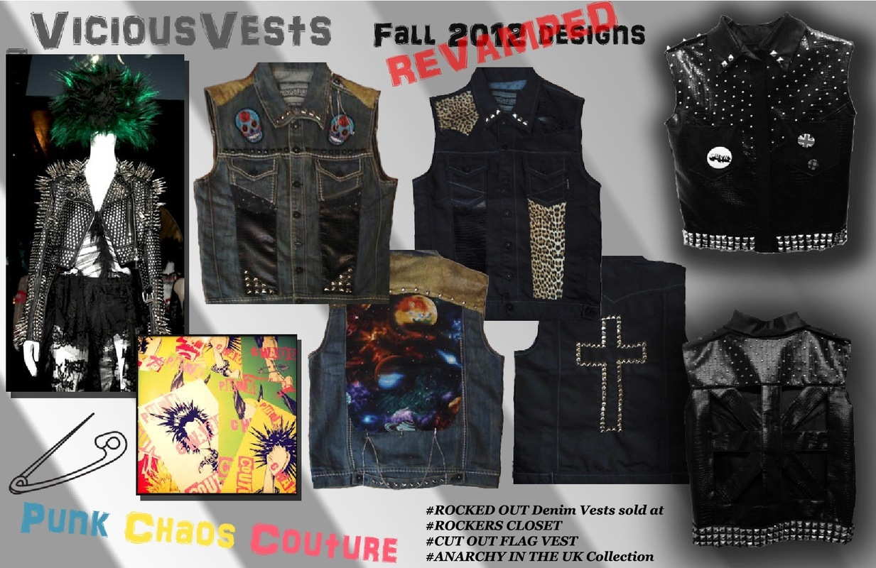 shelby nicole arata fashion design portfolio - Original Vicious Vests