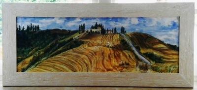 Annie Maheux Works - Landscape painting. 2012.