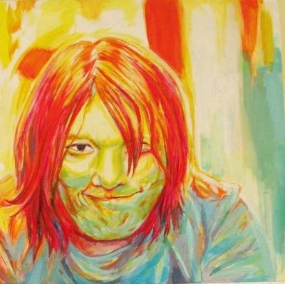 Annie Maheux Works - Benjamin, Comic Artist portrait. 2011.