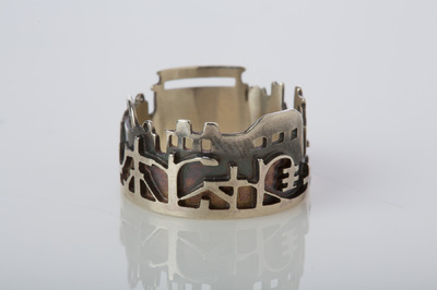 Hosanna Rubio Metals and Jewelry - The roads you walk stay with you