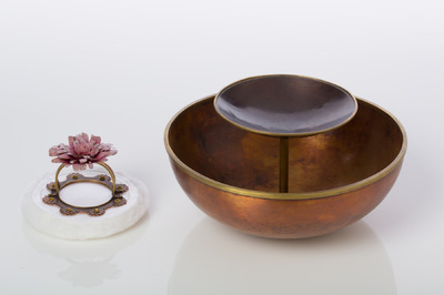 Hosanna Rubio Metals and Jewelry - Anoint the Body: a bowl for my grandmother Detail