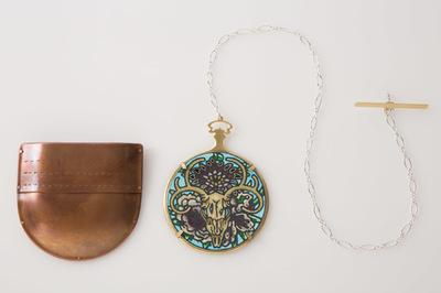 Hosanna Rubio Metals and Jewelry - Vanitas: a pocket for my life