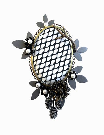 Hosanna Rubio Metals and Jewelry - Garden in the Machine