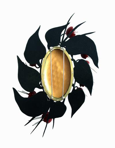 Hosanna Rubio Metals and Jewelry - Machine in the Garden Back Detail