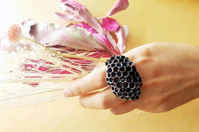 Hosanna Rubio Metals and Jewelry - Bees Knees Ring