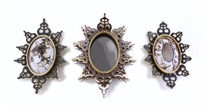 Hosanna Rubio Metals and Jewelry - Keen Brooch Series