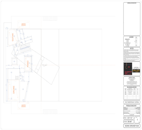 finzelber design - The Threepenny Opera