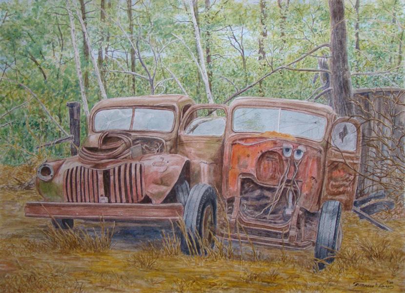 Artwork by Francis Warner -