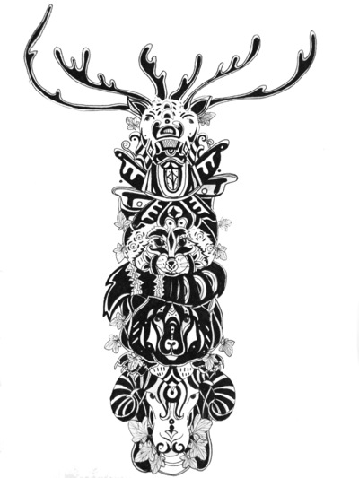 Portafolio - Totem canadiense 2015