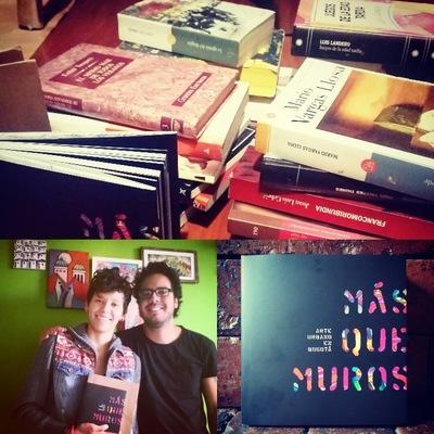 Ciudad Sostenible - Andrés Quintero. Director de Bogotart y autor del Libro MÁS QUE MUROS - Nos regaló 30 libros para la biblioteca.