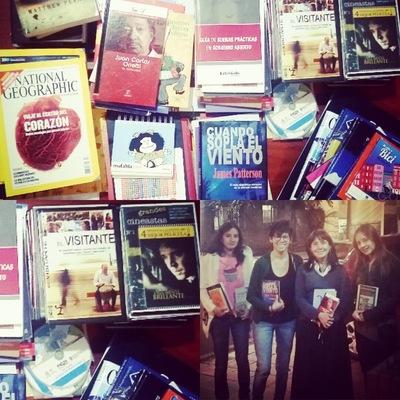 Ciudad Sostenible - Gracias a Angela Maria Gomez que nos donó libros de literatura y películas de cine independiente para la Biblioteca.