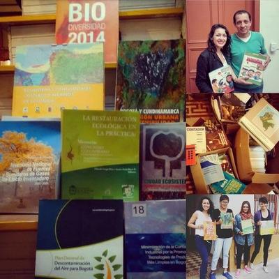 Ciudad Sostenible - Donación de Libros que nos hicieron nuestros amigos de Bibliorodantes