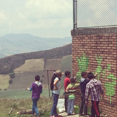 Ciudad Sostenible - Pintando el Campo