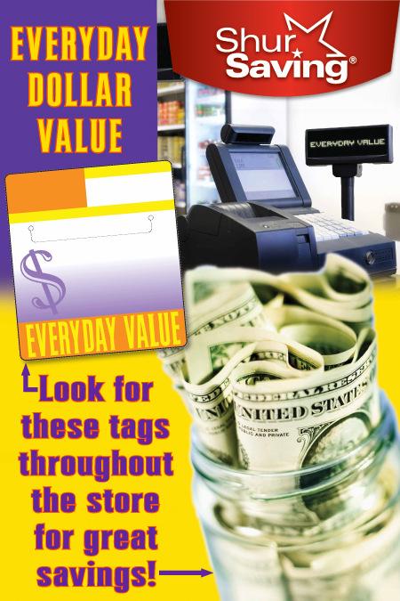 Artist Pen - Poster Design for Everyday Dollar Savings