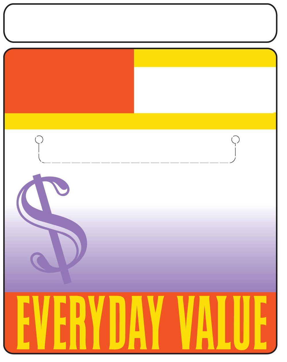 Artist Pen - Shelf Sticker for Everyday Dollar Savings