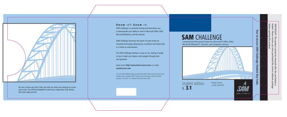Artist Pen - SAM CD Packaging
