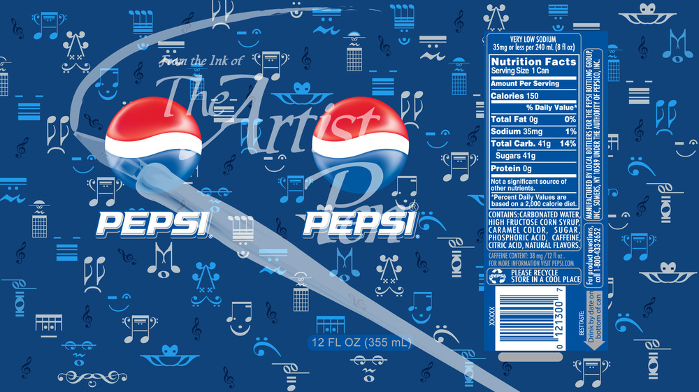 Artist Pen - Pepsi Can computer faces theme