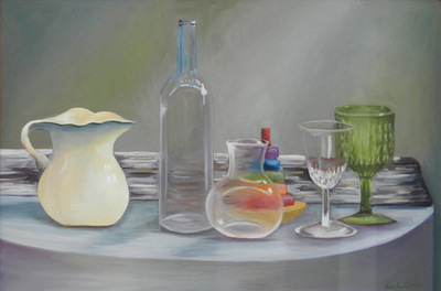 Artist Pen - Oil painting of still life. Award winner
