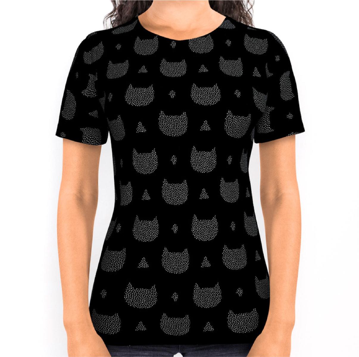 mfa -- designer textile - chats confettis -- Society 6