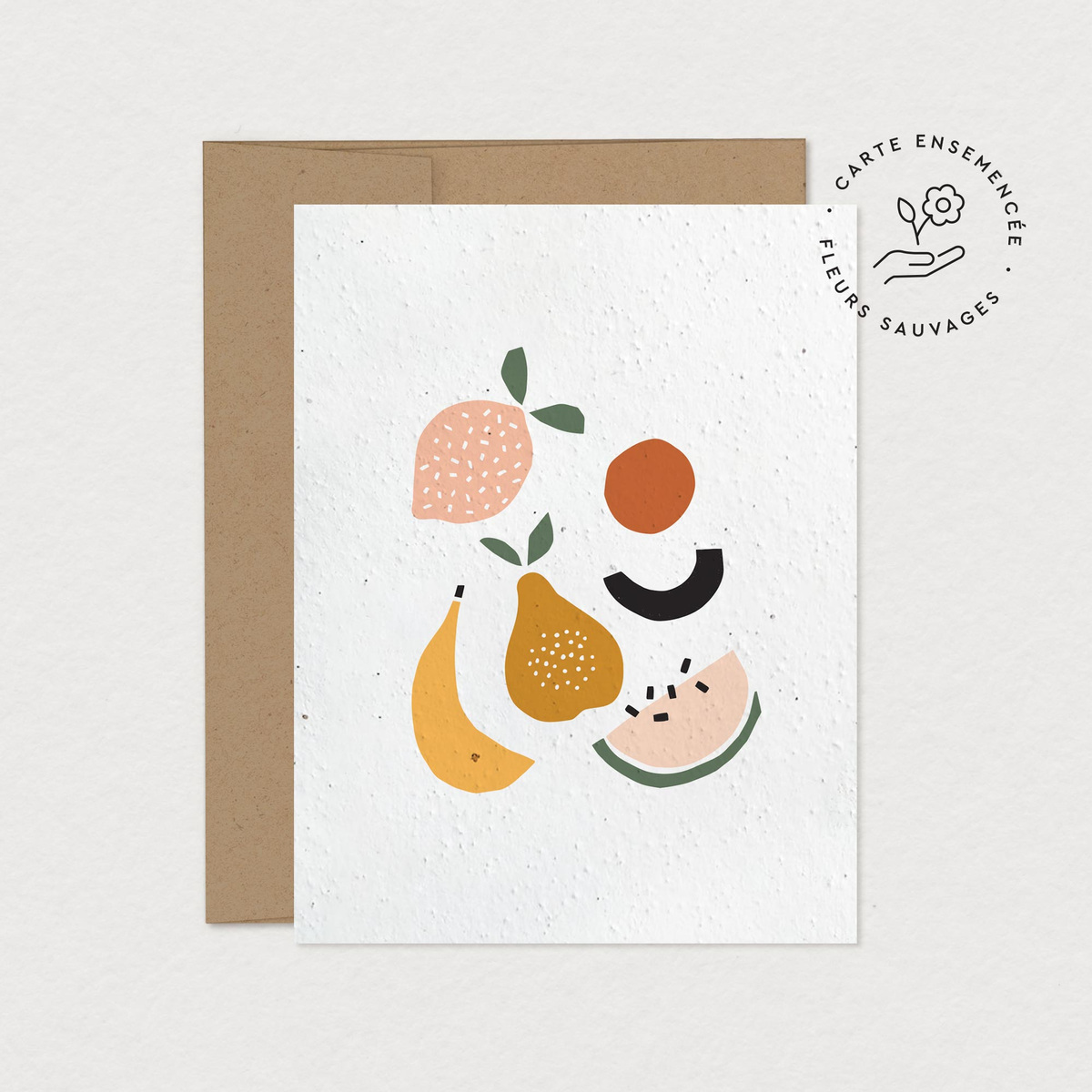 mfa -- designer textile - fruits (collection carte à planter)