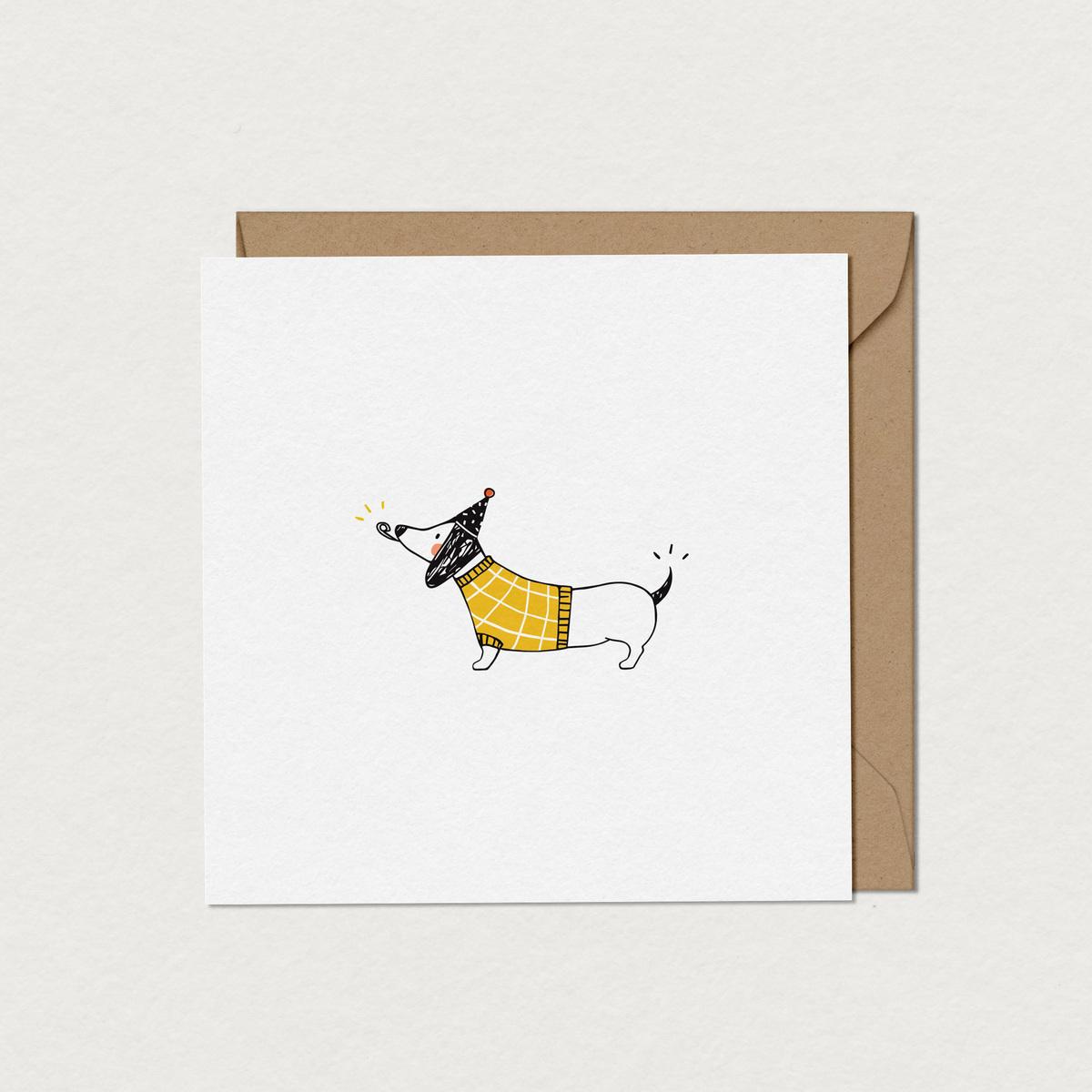 mfa -- designer textile - chien saucisse