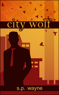 T.K. Hunter - Custom eBook Cover Designer - The cover for City Wolf, currently available on Amazon.