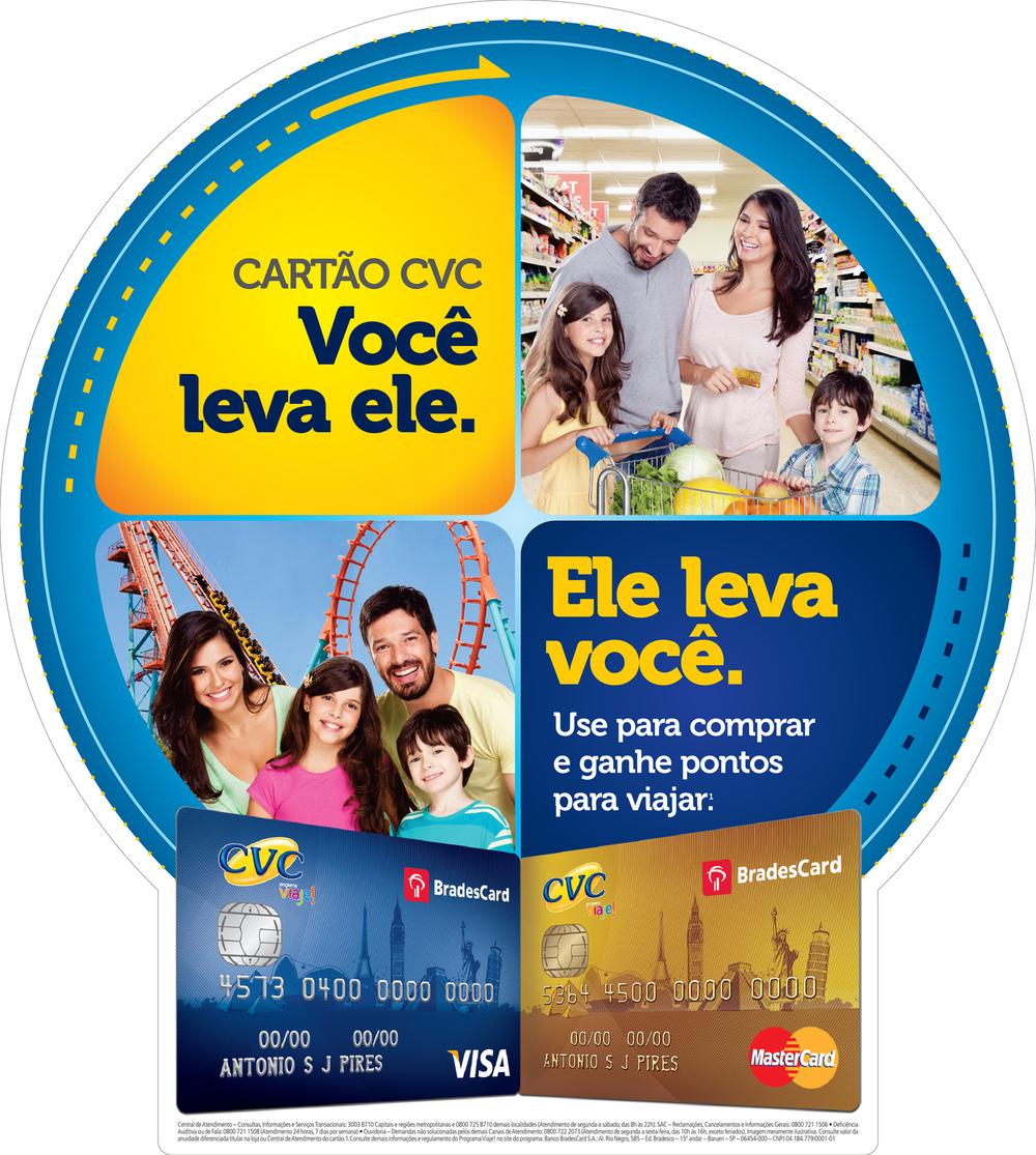 Vitor Shalom - Photographer - Cartões Bradesco - CVC