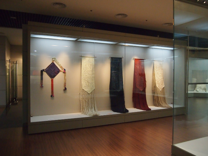 SiennaMartz - SUBO STRAPS 2016 DISPLAYED AT THE CHUNG YOUNG YANG EMBROIDERY MUSEUM FOR THE THREADS OF SPLENDOR EXHIBITION IN SEOUL, SOUTH KOREA