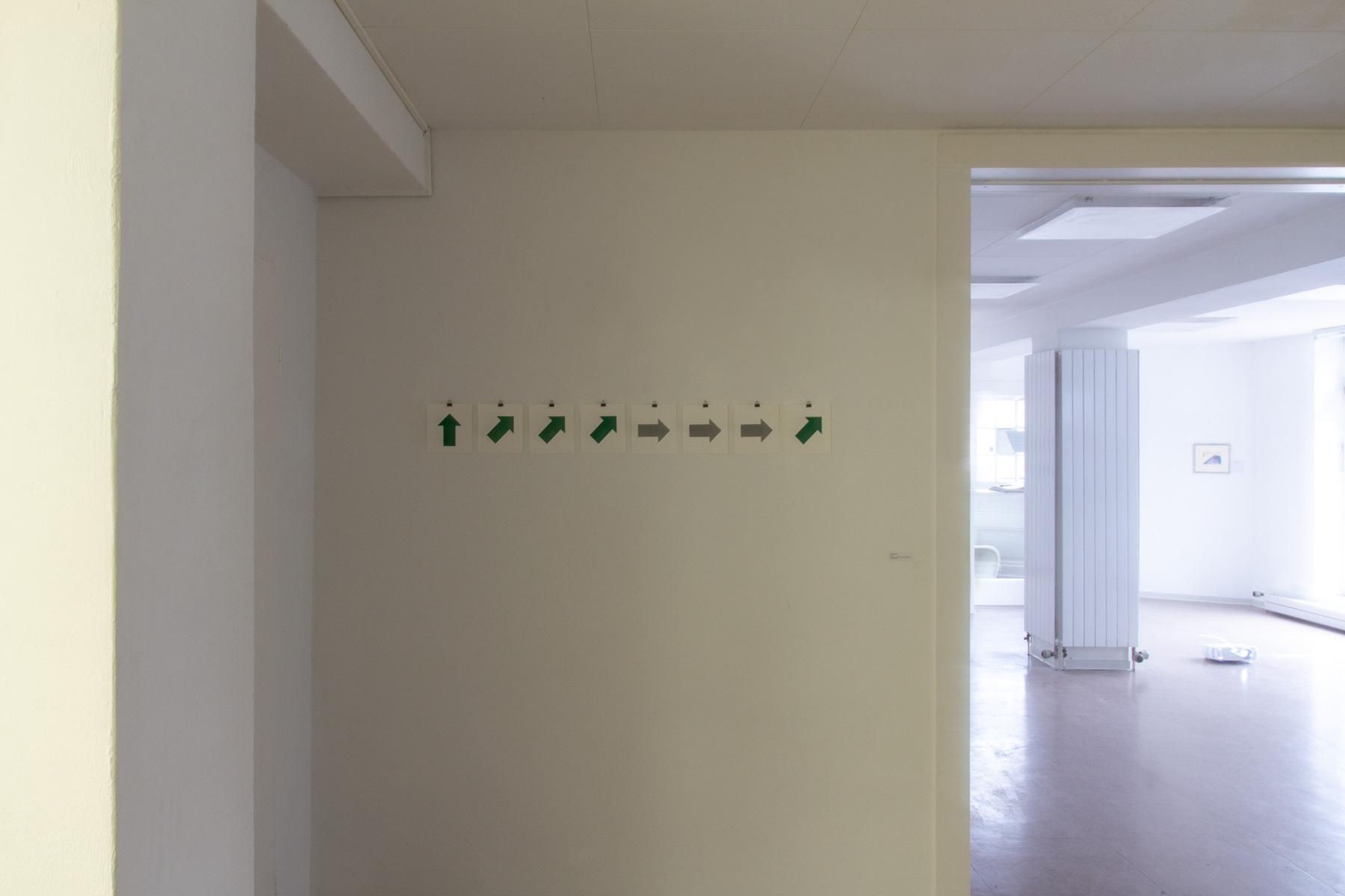 Philipp Valenta - Ausstellungsansicht/Exhibition View Vektor (20.09.2019, 16 Uhr)