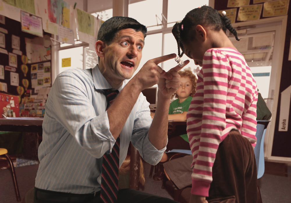 Katrina Rasma Design + Photography - Final: Paul Ryan yelling at a young girl