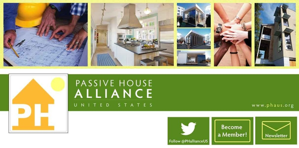 Katrina Rasma Design + Photography - Facebook headline banner, primary icon and supporting icons alligned with the Passive House Alliance US brand standard