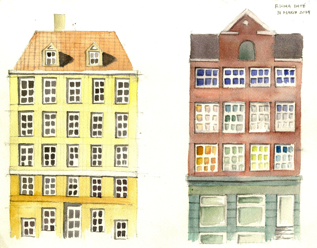 Richa Date - facades of copenhagen