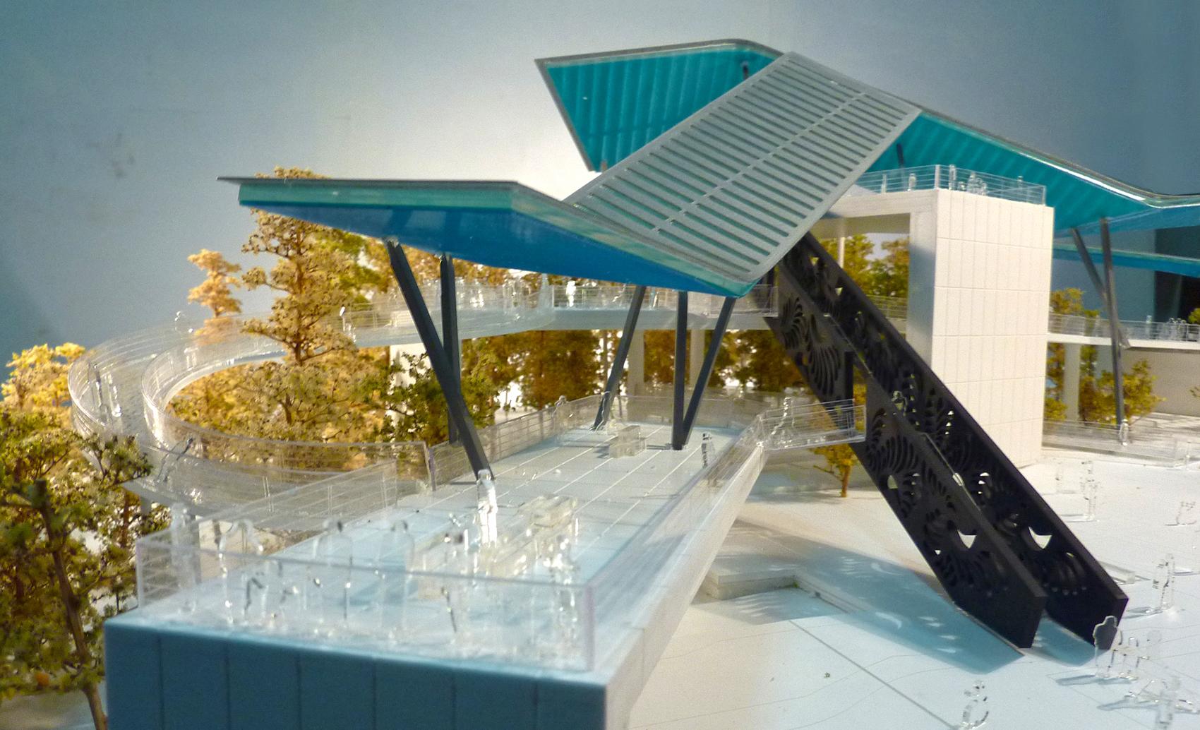 Mirador conmemorativo 5m adaptable - Arquitectura de diseno ...